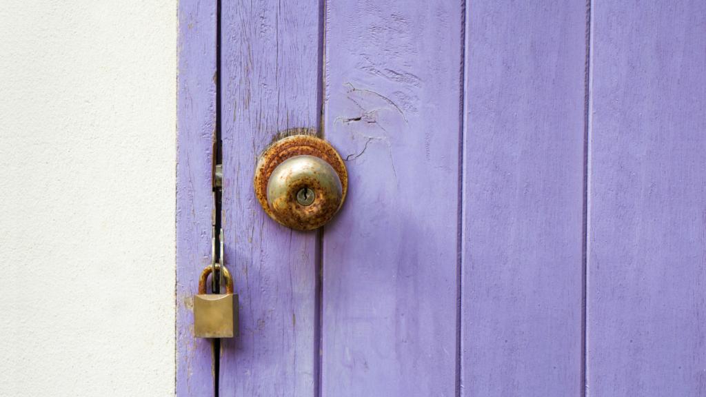 Rusted Door Locks